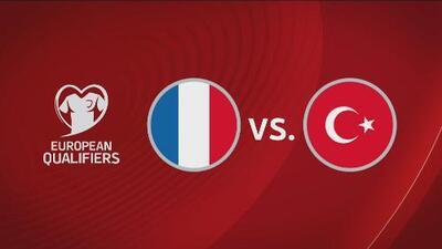Francia 1-1 Turquía - Resumen y goles