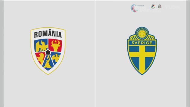 Rumania 0-2 Suecia – Resumen y goles – Grupo F - Clasificación a la Eurocopa