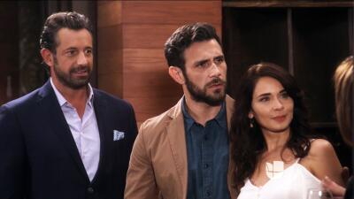 Raquel, Damián, Carolina y Santiago comenzaron a 'Caer en tentación': mira el estreno en fotos