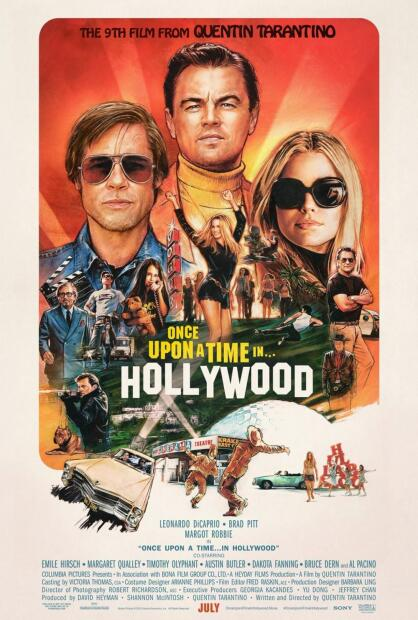 'Once Upon a Time... in Hollywood', Mejor película (musical o comedia).