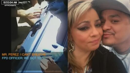 Reveladoras imágenes de hispano antes de morir bajo custodia policial