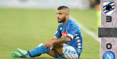 Sampdoria hunde al Nápoles de Ancelotti