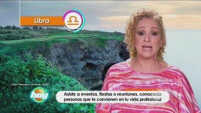 Mizada Libra 28 octubre de 2016