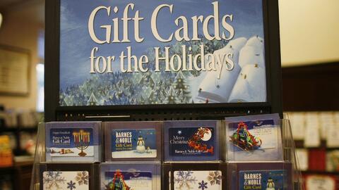 ¿Qué hacer si recibiste una tarjeta de regalo de una tienda que no te gusta?