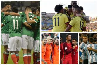15 partidos para no perderse de esta jornada de las Eliminatorias a Rusia 2018