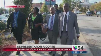 Los padres de Kendrick Johnson se presentaron ante la Corte