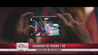 Usuarios de iPhone 7 se quejan de un silbido