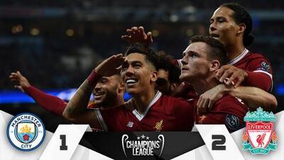 Liverpool pintó de rojo Manchester de la mano de Salah y se clasificó a semifinales