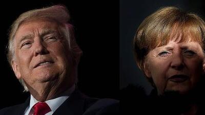 Merkel y Trump frente a frente: lo que los une y lo que los separa