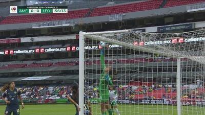 ¡A una mano! Gutiérrez salva al América con genial atajada