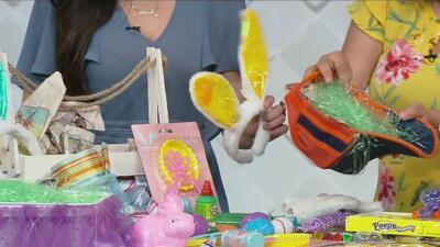 Materiales caseros para decorar las canastas de Pascua y sorprender a los niños