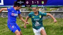Cruz Azul no puede mantener la ventaja y empata 1-1 con León