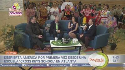 Despierta América se transmite por primera vez desde Atlanta