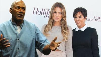 """Khloé Kardashian """"no es mía"""": OJ Simpson jura que nunca sintió atracción por Kris Jenner"""