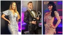 Así lucieron los famosos del regional mexicano en la alfombra azul de los premios Bandamax
