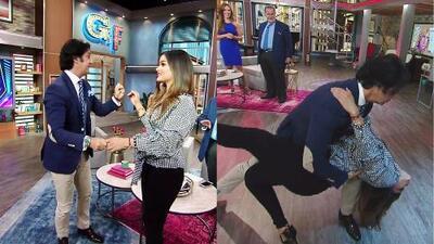 Clarissa le demostró a Javier 'Poty' Castillo por qué ella se merecía estar en Mira Quién Baila