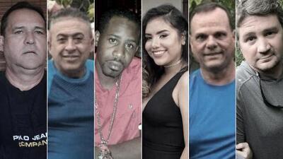 Estas son las víctimas mortales del puente que colapsó en Miami