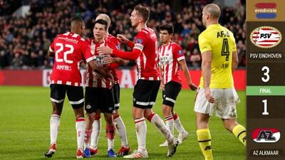 ¡Llegó la Navidad del 'Chucky'! PSV ganó con gol del mexicano