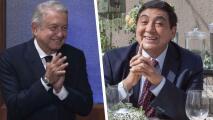 'Huicho Domínguez' le pide apoyo económico a López Obrador