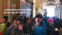 Lo que se sabe del hombre de San Antonio arrestado por los disturbios en el Capitolio