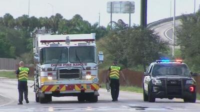Ciclista muere y cinco más resultan heridos tras ser atropellados por un vehículo en el sur de Florida