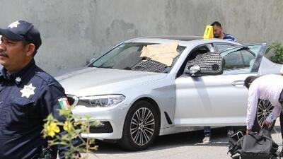 Así quedó el auto de Juan Carlos Huerta, el periodista mexicano asesinado a balazos a la salida de su casa