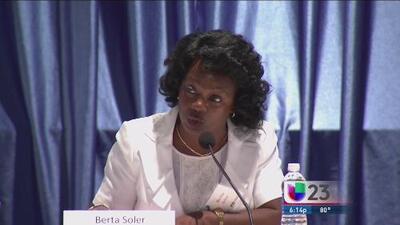 """Damas de Blanco """"pasaron la página"""", según Berta Soler"""