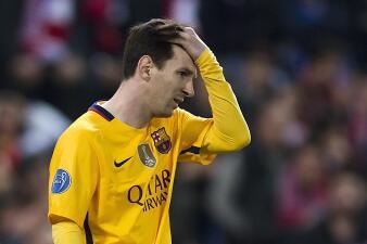 Los rostros de la derrota del Barcelona fuera de la Champions