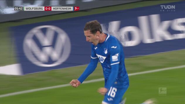 ¡En su partido 200! Rudy marca el primero ante Wolfsburgo