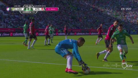 ¡Tremendo error de Pepe Hernández que casi le cuesta el primero a Atlas!