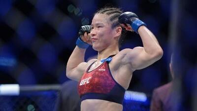Weili Zhang venció Jessica Andrade en la UFC