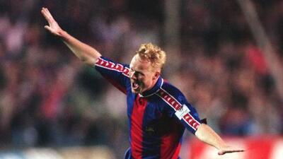 Los 10 mejores | Ronald Koeman y una 'jugada de laboratorio' ante la Sampdoria en la Champions de 1992