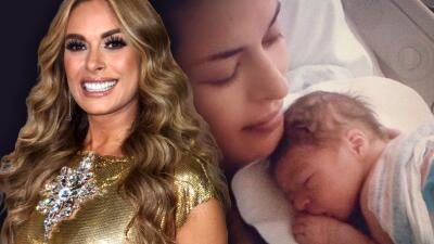 """A Galilea Montijo le gustaría volver a ser madre pero descarta congelar sus óvulos porque """"ya fui mamá natural"""""""
