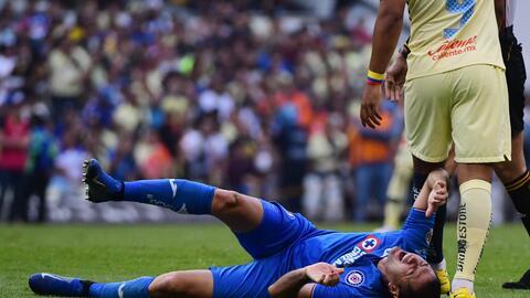 Buenas noticias en Cruz Azul: Aguilar y Cauteruccio podrían jugar ante Pumas