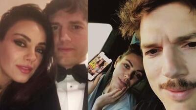 Mila Kunis y Ashton Kutcher desmienten su ruptura con humor, ¿deberían más famosos seguir su ejemplo?