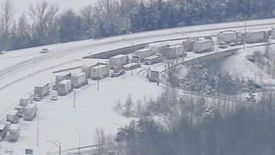 Más de cuatro mil vuelos cancelados y 94 millones de afectados por tormenta invernal