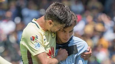 Oribe Peralta le dedicó emotivo mensaje a Diego Lainez
