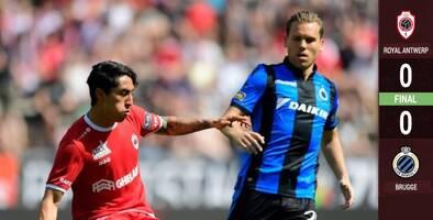 Omar Govea y Antwerp empatan en Playoffs de la Jupiler Pro League