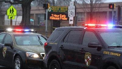 Autoridades identifican al joven atacante en una escuela de Maryland