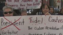 """Exiliados cubanos en Union City celebran lo que consideran """"el principio del fin del castrismo"""""""