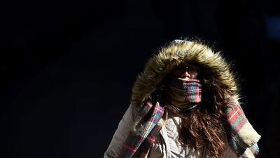 El avance de la ola de frío en Nueva York trae ráfagas de hasta 60 millas por hora