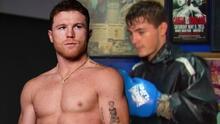 Él es Johan Álvarez, sobrino de 'Canelo', quien entrena en el mismo ring que su tío en sus inicios
