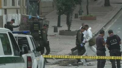 Primera hipótesis sobre la autoría del atentado en Bogotá, Colombia, señala al grupo guerrillero ELN