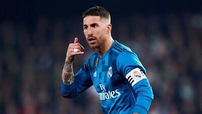 Sergio Ramos bromea con el Manchester City por su tirada de trofeo