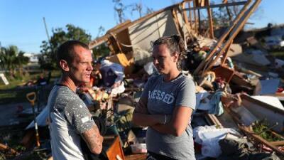"""""""No pensábamos que sería tan fuerte"""": Panama City es sorprendida por la devastación causada por Michael"""