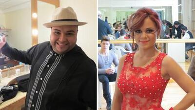 Ricardo y Ana Cristina nerviosos de cantar frente a Ricky Martin
