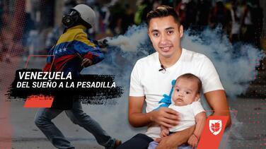 Hasta las lágrimas: el viacrucis de un futbolista mexicano por el pasaporte de su bebé