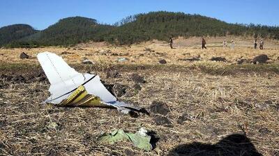 """""""El piloto dijo que tenía problemas y quería regresar"""", revela la compañía del avión que se estrelló en Etiopía"""