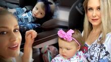 En su segunda salida en más de 4 meses, Ingrid Martz explica por qué llevó a su bebé Martina al pediatra