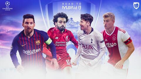 ¡Semifinales de alarido! Así quedaron los cruces en la Champions League
